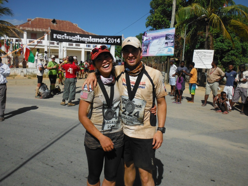 We did it! Race completed