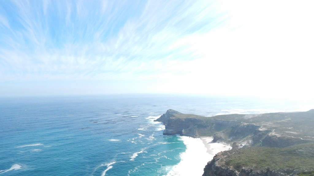 A view of Cape of Good Hope from Cape Point