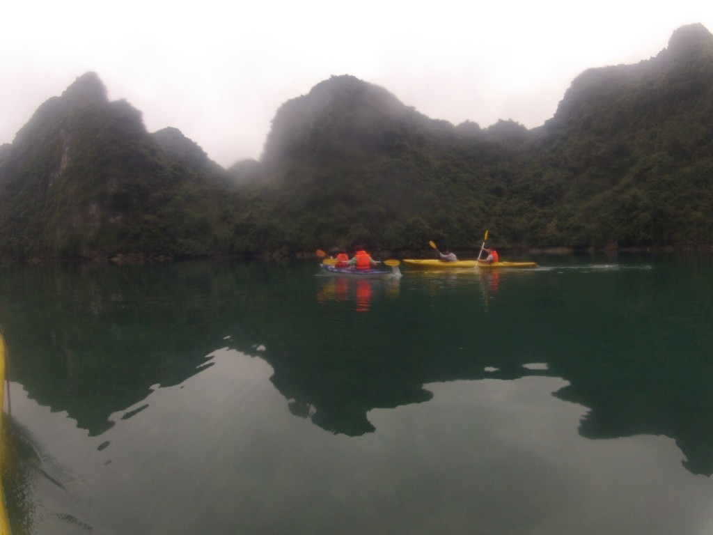 Halong Bay by kayak